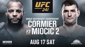 UFC 241 – Cormier vs Miocic on Ottawa's Largest HD Projection Screen
