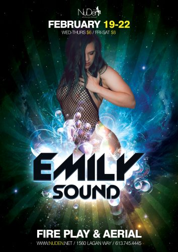 Emily Sound – Fire Play and Aerial!